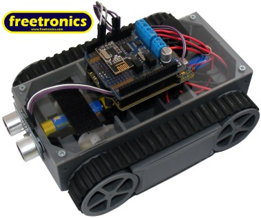 The Freetronics TankBot