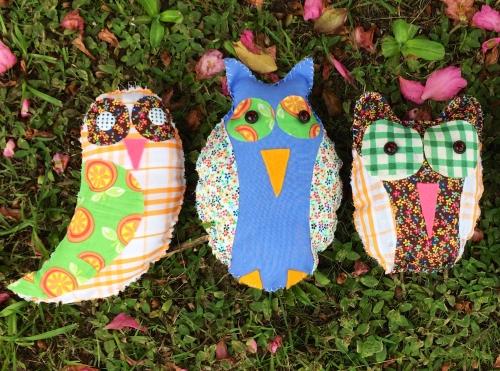 Mintchi's handmade eco owls