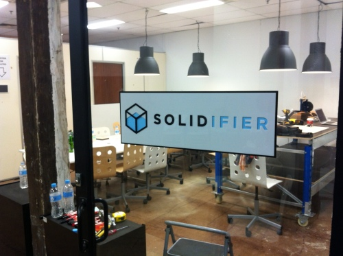 Solidifier's brand new base of operations on Oxford St, Darlinghurst.