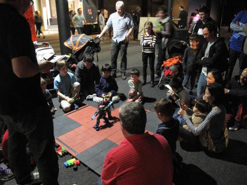 roboteshop at the 2015 Sydney Mini Maker Faire. Photograph by Janson Hews.